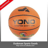 2015 YONO World cup size 7 PVC Laminated Basketball