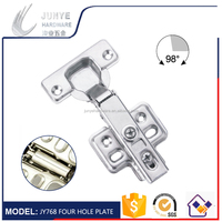 Hot sell heavy duty iron material clip on hydraulic furniture hinge