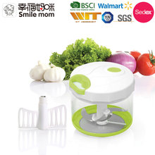 A368 Disassemble to wash stainless steel blade cheap mini chopper 2 in 1