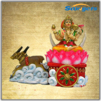 901)SGE733 Decoration Lord Krishna With Cow