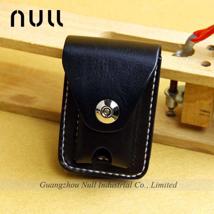 genuine leather material durable quality cigarette wallet case