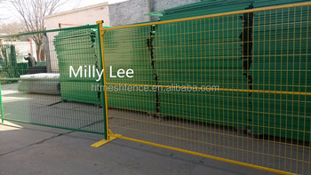 easy relocation fence/ durable and flexible temporary fence/ construction fence panel China direct factory