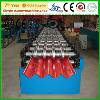 CE Certificate Steel Roof Trapezoidal Sheet Cold Roll Forming Machine metal profile aluminium tile roll former