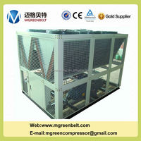 Air Cooled Screw Water Chiller r22 Compressor