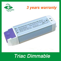 50w IP20 dimmable triac led driver constant current 1400 ma 1500mA
