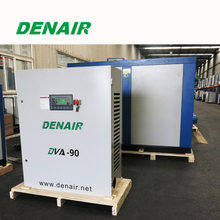 variable inverter air cooling air compressor with PMSM motor