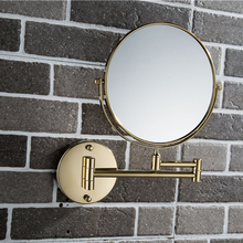 Latest arrival LY-1309 two-sided wall mount makeup magnifying cosmetic mirror