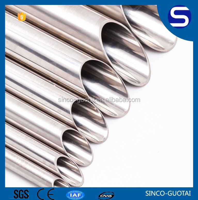 SS304 316L welding cold drawn steel tube