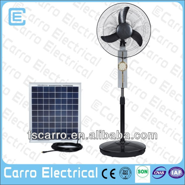 Energy-saving 12v dc solar parts of electric fan