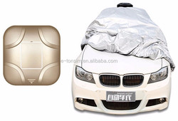 disposable plastic car cover used for keeping from dust, snow, raindrop