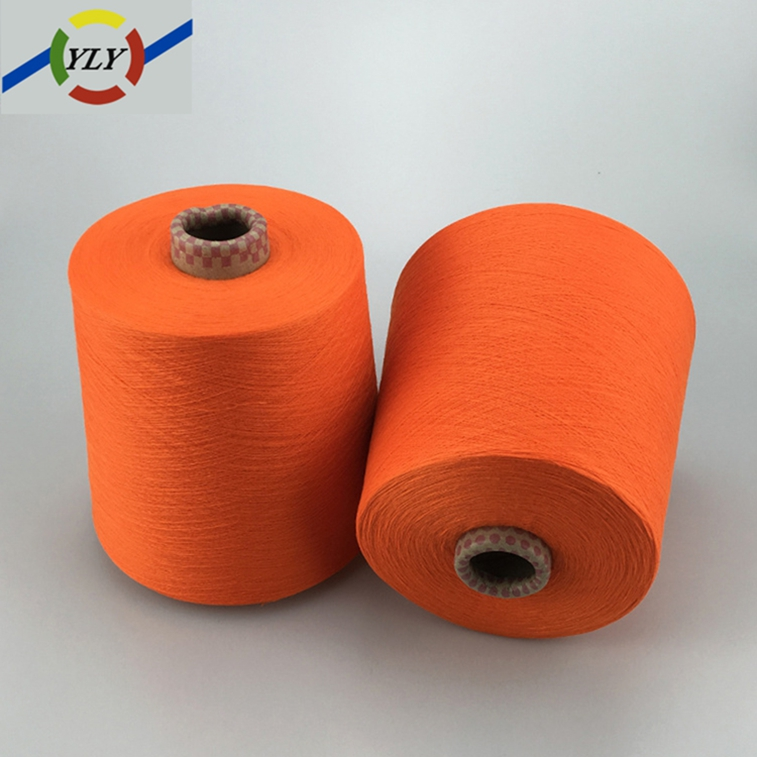 microfiber yarn 100% spun polyester yarn manufacturers in china with good quality