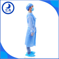 Hospital Use OEM Medical Clothing Sterilized Disposable Surgical Gown