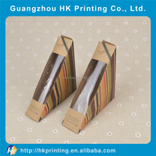 Venta caliente personalizada pan paper box packaging caja de torta hecha en china