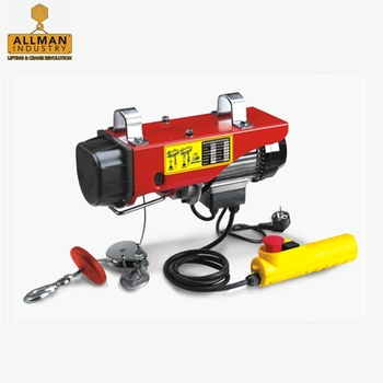 ALLMAN 500/1000 kg CE certificate pa1000 mini electric hoist winch