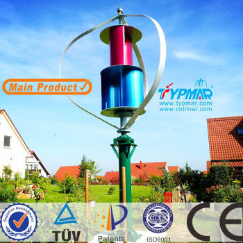 TYPMAR Maglev Vertical Axis 1KW 3KW Wind Turbine Price
