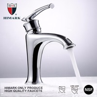 HIMARK innovative products chrome plated brass wash basin faucet
