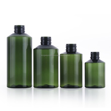 Free sample 50ml round shape plastic PET olive oil spray bottle for skin care packaging