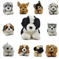 2017 Alibaba Custom OEM best made toys plush dog stuffed animals