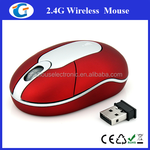 2014 eco- friendly wireless type 2.4G wireless trackball mouse