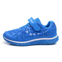 2015 High style sneaker velco-strip sports running shoes kids shoes