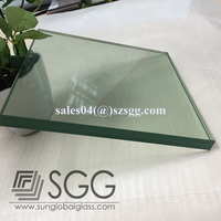 12mm tempered glass for roof panels glass facade sunroom glass roof