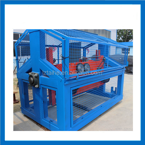 3 strand twisted pp pe polyester nylon cotton rope machine rope making machine