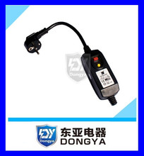 GS CE approved RCD/PRCD inline type safety plug for pressure wash machine