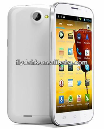 "5"" IPS MTK6589 Quad Core 1G RAM+4G ROM Dual SIM 3G Android mobile phone DG500"