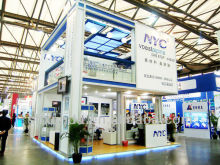 Double deck exhibition stand/fair booth/pavillion/trade show display booth