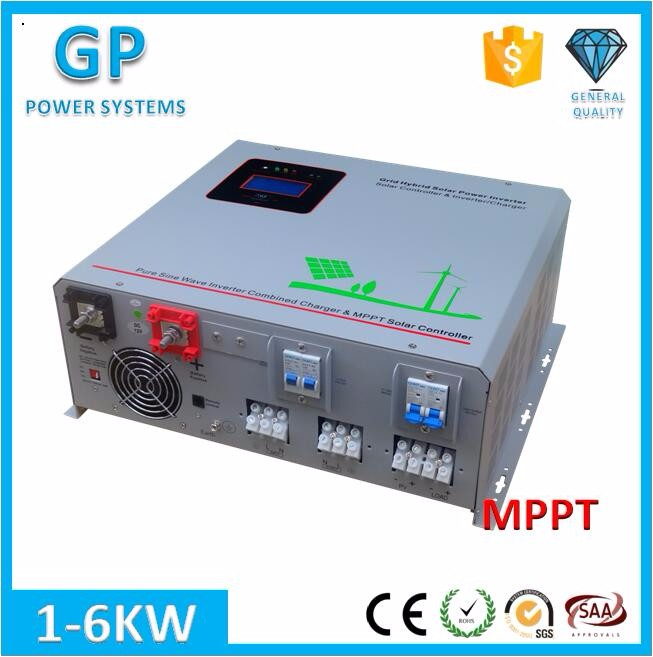 GP 3% discount 1500w pure sin 24v 220v mppt solar power inverter charger