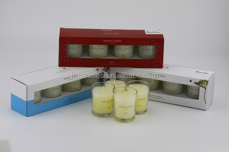 Wholesale custom soy candles jar glass private label