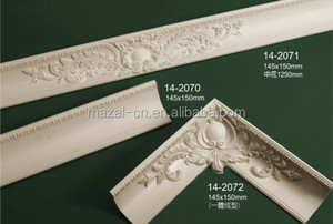 Combination Carving Cornices Moulding