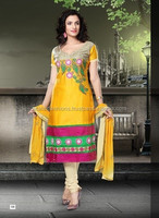 Designer Gelz Cotton Dress Material