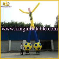 Inflatable two legs sky dancer,inflatable football air dancer, inflatable sky dancing man