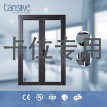 2016 top supplier tansive construction aluminium glass sliding front door