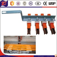 custom Single Pole insulation Crane Conductor bat copper powerrail System of China supliers