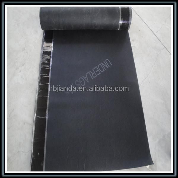 China the most professional self adhesive waterproofing membrane for roofs