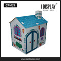 paintable kids cardboard playhouse for playing kids foldable playhouse