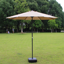 luxury sunshade garden parasol umbrella, windproof solar beach umbrella