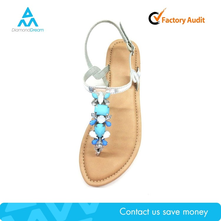 flip flop sandalia , women's summer product sandal decorate with pearl