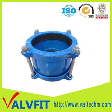 ductile iron mechanical coupling pipe fitting