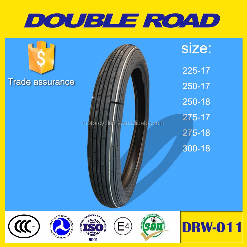 Wholesale China factory front tire 2.25-17 motorcycle tire
