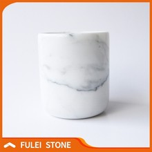 Hot sale best quality australia white marble candle jars