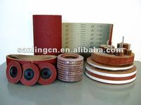 Sand Belt & Flap Disc Use Aluminum Oxide Abrasive Cloth Roll GXK51-B
