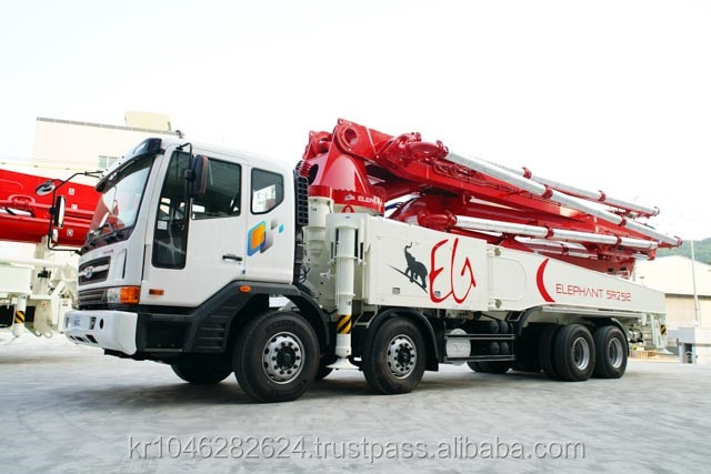 Truck-mounted Concrete boom pump Elephant 5RZ52