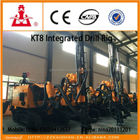 Kaishan KT8 Integrated Portable Hydraulic Rock Drilling Machine ( Include one 13m3, 17bar Screw Air Compressor)