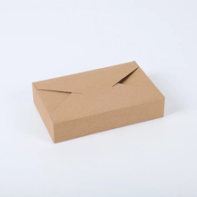 Disposable Kraft Paper Food Packing Box With High Quality White color cardboard food grade paper box