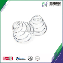 automotive parts conical compression stainless steel springs