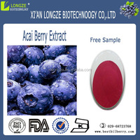 100% Natural fruit extract powder acai berry extract 4:1 10:1 ratio powder