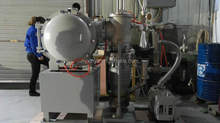high temperature vacuum heat treatment furnace with CE SV2-1200